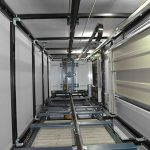 Ideal Lifts Frame System offsite construction, modular, light gauge steel and timber