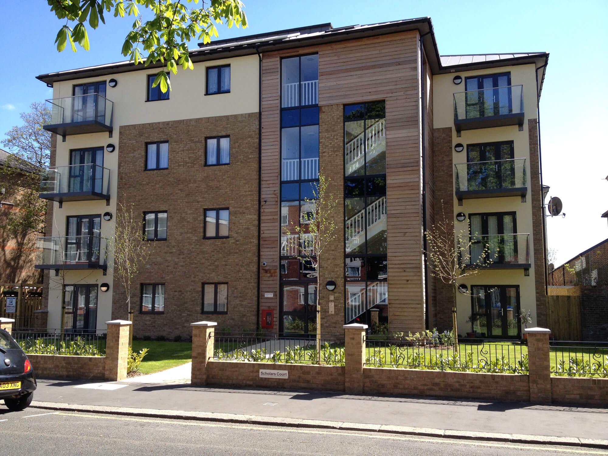 Timber Frame Apartments Croydon With Ideal Lift System 2 Lifts