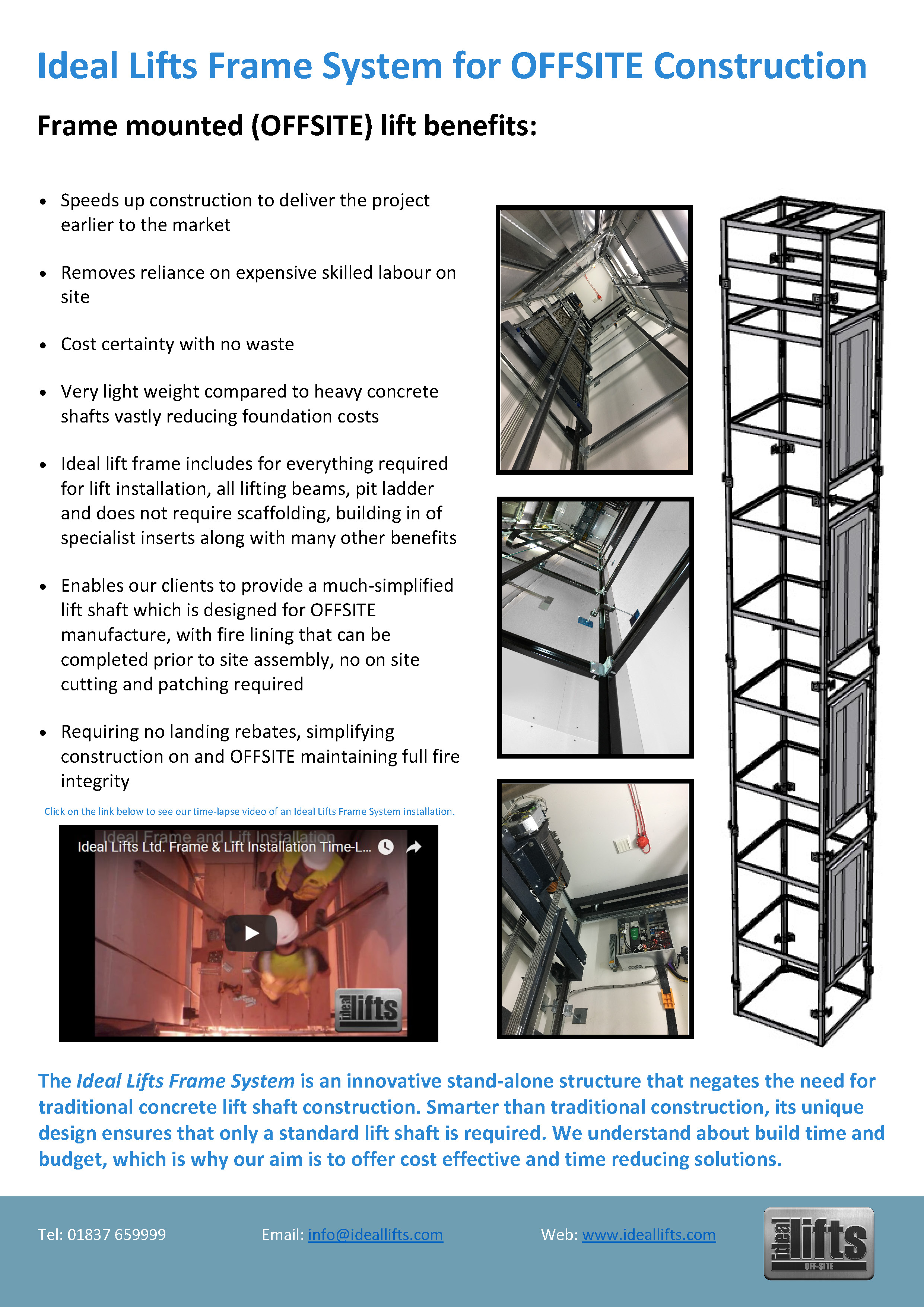 Timber Frame - Ideal Lifts