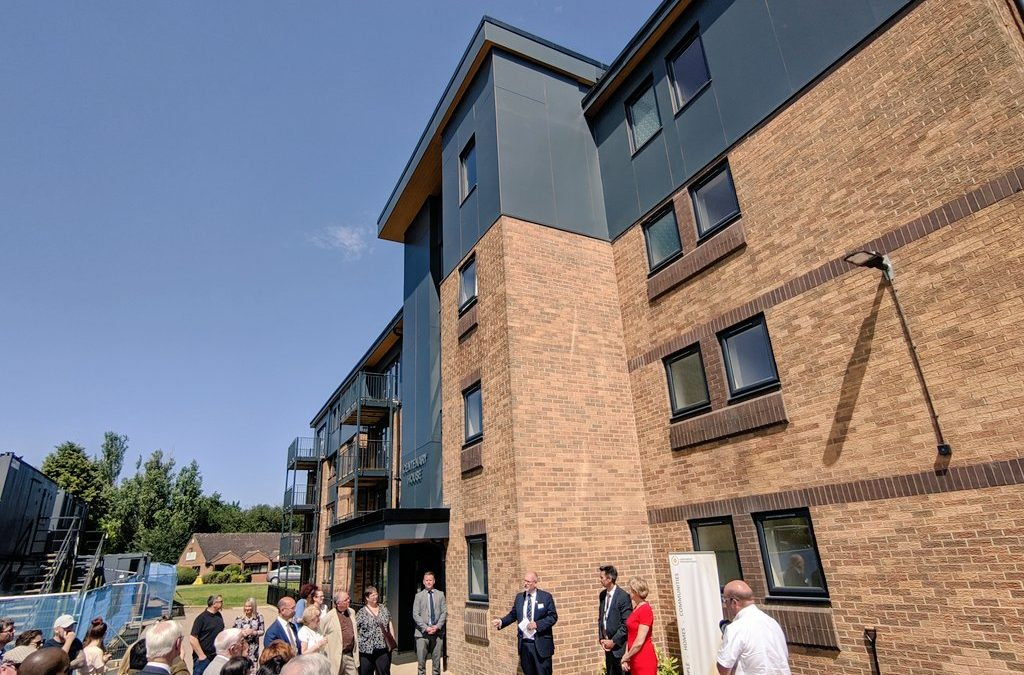 Northampton II - Light Gauge Steel (LGS) Residential, rooftop extension, Overbuild, airspace development, vertical extension,