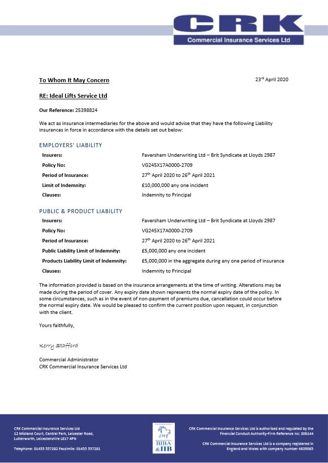 ServiceInsuranceDocument2020